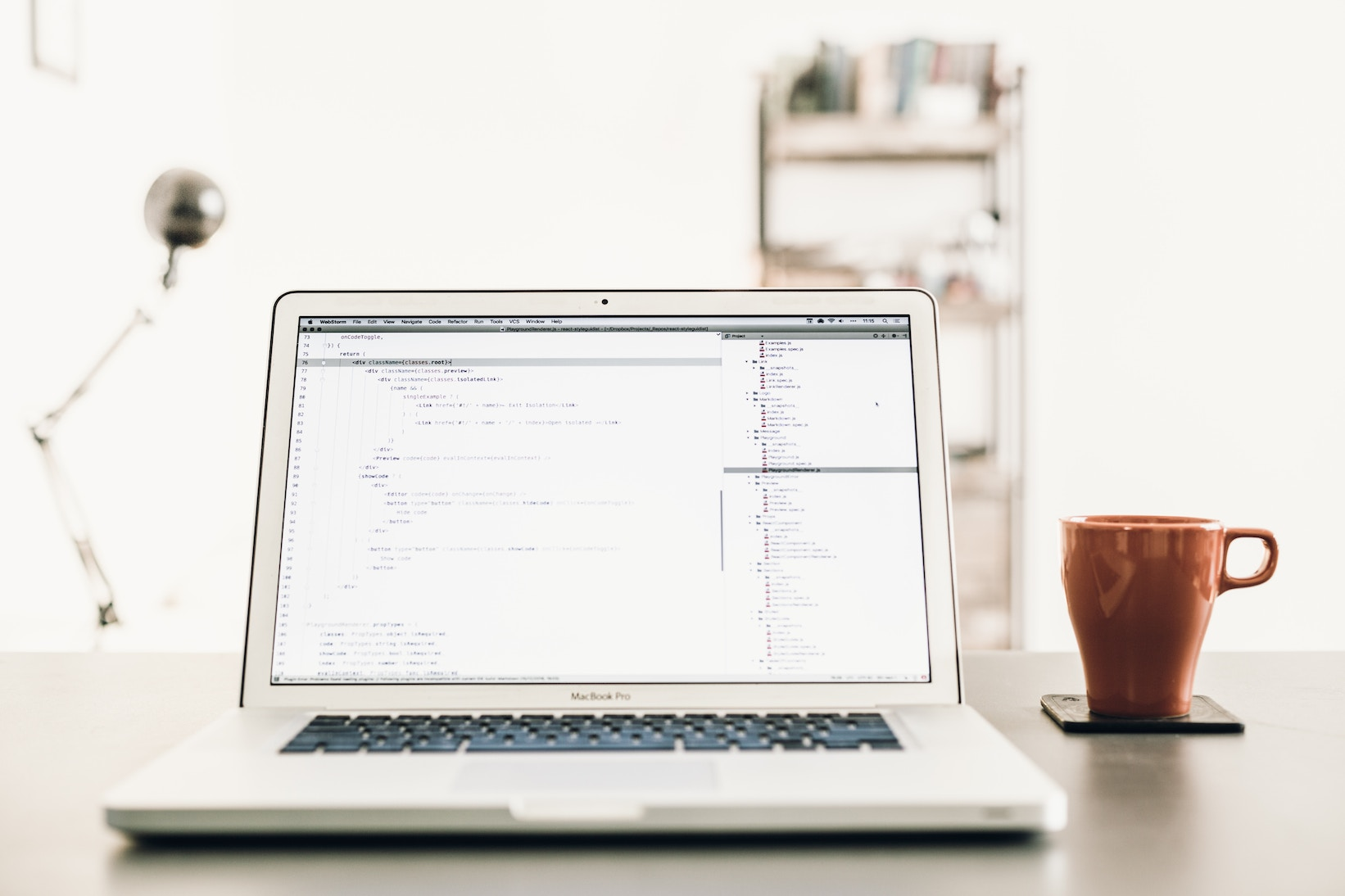 Image of a computer looking at actor social media information